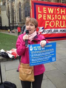 Louise Irvine Parliament Efford Bill