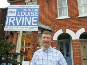 Chris Hyland supporting Louise Irvine 2
