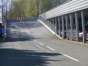 Farnborough Ramp for Station Car Park