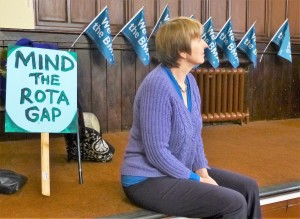Mind The Rota Gap - Dr Louise Irvine