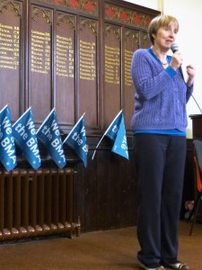 Speech by Dr Louise Irvine